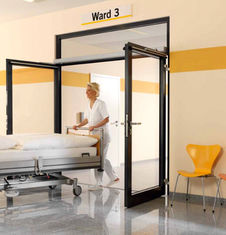 चीन Hospital Automatic Swing Door Opener Support Sliding / articulated arm आपूर्तिकर्ता