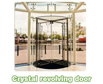 चीन Shopping center mansion Automatic crane Revolving Door Unit with 3 or 4 wings आपूर्तिकर्ता