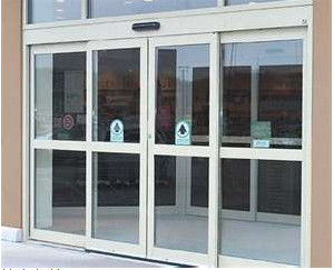चीन Anti-collision Residential Automatic Sliding Doors , Digital controller auto slide door फैक्टरी
