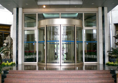 चीन Mansion Double wing automated commercial automatic sliding glass doors वितरक