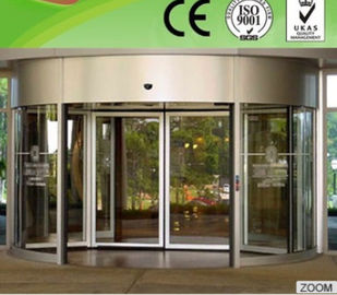 चीन Professional Flat / bent tempered glass Curved Sliding Door for Theatres वितरक
